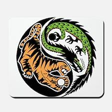 Dragon Tiger Mousepad