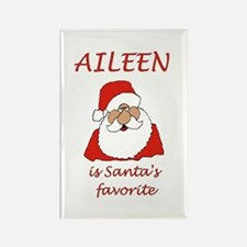 Aileen Christmas Rectangle Magnet