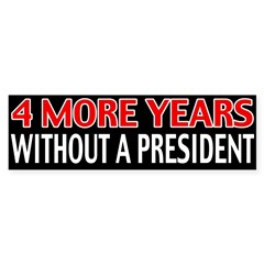 4 More Years Bumper Sticker (50 pk)