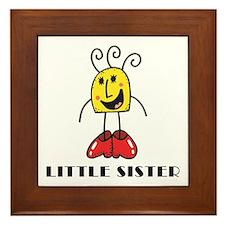 Little Sister Framed Tile