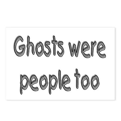 Ghosts Were People Too Postcards (Package of 8)