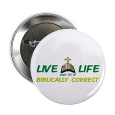 Live Life! Button 2.25""