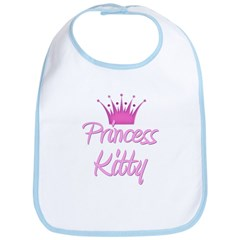 Princess Kitty Bib