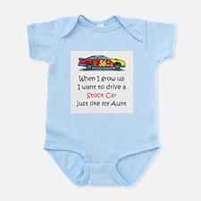WIGU Stock Car Aunt Infant Bodysuit