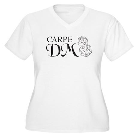 Carpe DM Women's Plus Size V-Neck T-Shirt