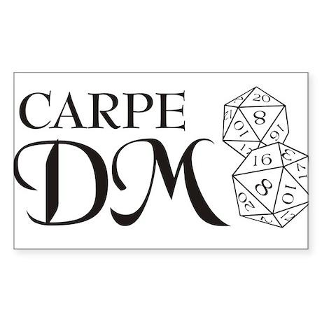 Carpe DM Rectangle Sticker