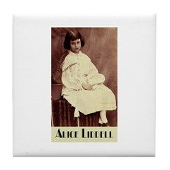 Alice Liddell Tile Coaster