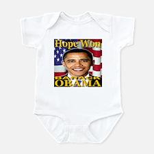 Hope Won Infant Bodysuit