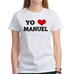 Amo (i love) Manuel Women's T-Shirt