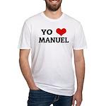 Amo (i love) Manuel Fitted T-Shirt