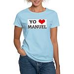 Amo (i love) Manuel Women's Pink T-Shirt