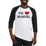 Amo (i love) Manuel Baseball Jersey
