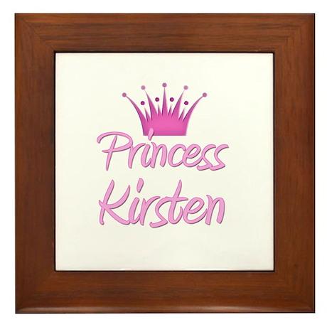 Princess Kirsten Framed Tile