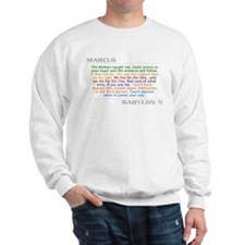 Marcus Quote Combo Sweatshirt