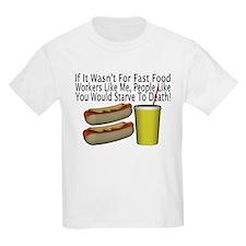 Fast Food Worker T-Shirt