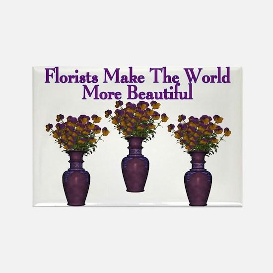 Florists Rectangle Magnet