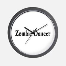 Zombie Dancer Wall Clock