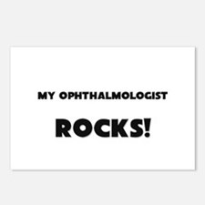 MY Ophthalmologist ROCKS! Postcards (Package of 8)