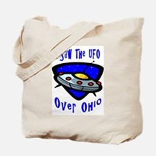 I Saw The UFO Tote Bag