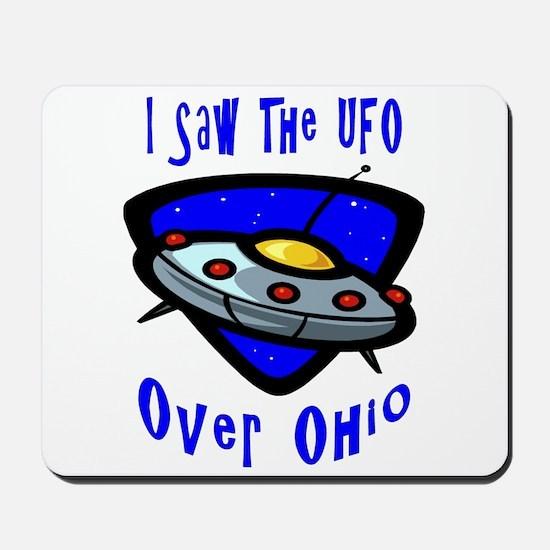 I Saw The UFO Mousepad
