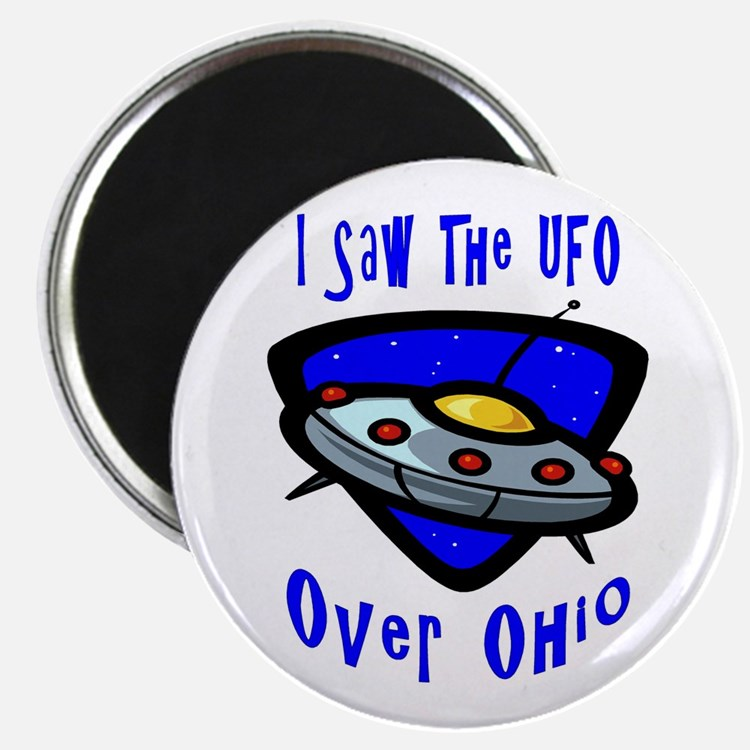I Saw The UFO Magnet