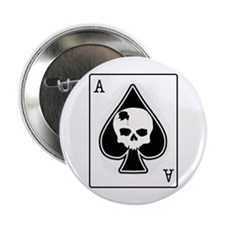 """The Ace of Spades 2.25"""" Button"""