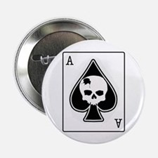 "The Ace of Spades 2.25"" Button"