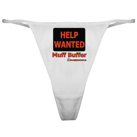 Help Wanted: Muff Buffer Classic Thong