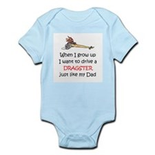 WIGU Dragster Dad Infant Bodysuit