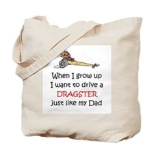 WIGU Dragster Dad Tote Bag