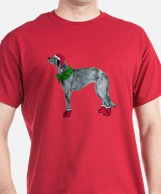 Christmas deerhound T-Shirt