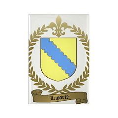 LAPORTE Family Rectangle Magnet (10 pack)