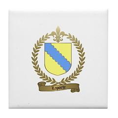 LAPORTE Family Tile Coaster