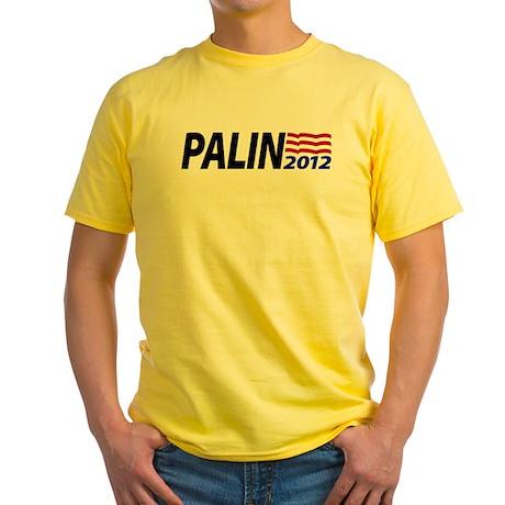 Palin 2012 Yellow T-Shirt