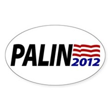 Palin 2012 Oval Decal