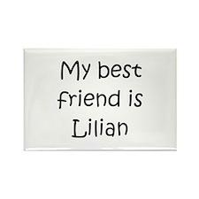 Cool Lilian Rectangle Magnet