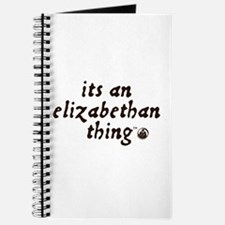 Elizabethan Thing (TM) Journal