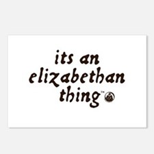 Elizabethan Thing (TM) Postcards (Package of 8)