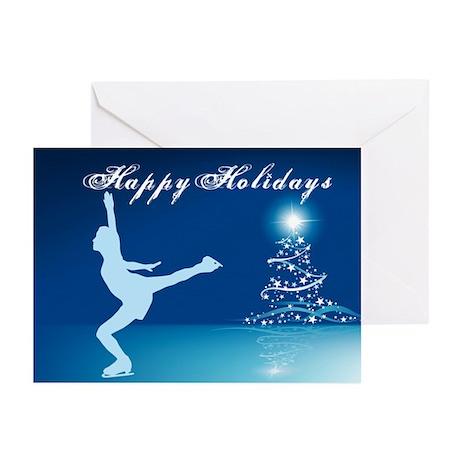 Holiday Skater Greeting Cards (Pk of 10)