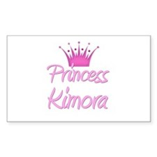 Princess Kimora Rectangle Decal