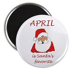 "April christmas 2.25"" Magnet (100 pack)"