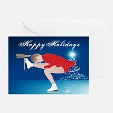 Holiday Skater Greeting Cards (Pk of 20)