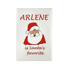 Arlene Christmas Rectangle Magnet