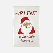 Arlene Christmas Rectangle Magnet