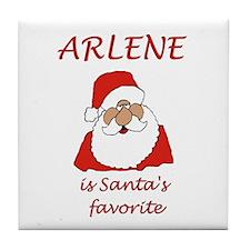 Arlene Christmas Tile Coaster