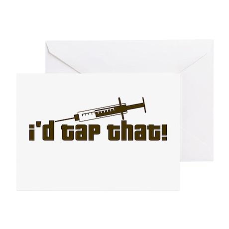 Nurse, Phlebotomist Humor Greeting Cards (Pk of 10