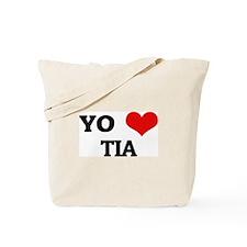 Amo (i love) Tia Tote Bag