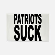 Patriots Suck Rectangle Magnet