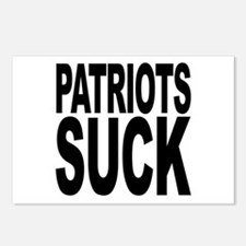 Patriots Suck Postcards (Package of 8)