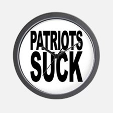 Patriots Suck Wall Clock
